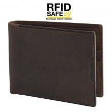 Samsonite OLEO SLG nagy barna férfi apró tartó nélküli pénz és irattartó tárca RFID védelemmel 108368-1251