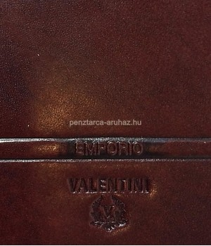 Valentini oldalfalas aprótartós barna férfi bőr pénztárca 563288