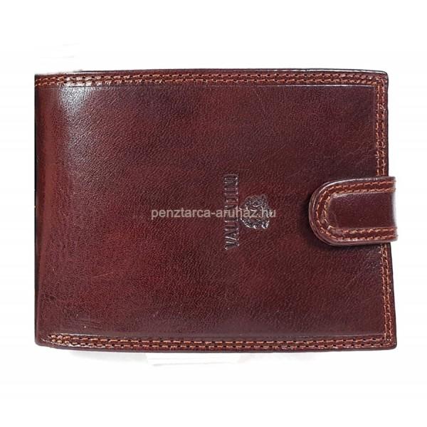 Valentini oldalfalas aprótartós barna kapcsos férfi bőr pénztárca 563-320 48a06d3751