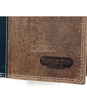 American Pride álló, szabadon nyíló pénztárca és irattárca 719