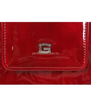 GIUDI piros lakk női pénz-és irattárca G9611GVL-05