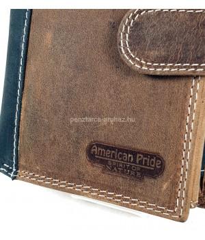 American Pride álló kapcsos pénztárca és irattárca 7141