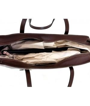 Vödör fazonú, ezüst kellékes tóp-barna Rialto válltáska R10452RAEVENS