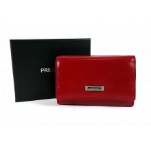 PRESTIGE kis piros női pénztárca PRF46004