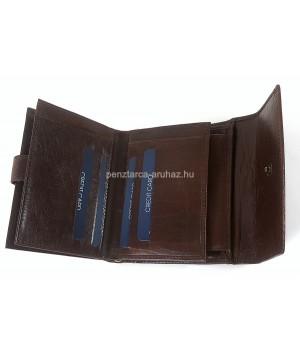 Rialto női, íves fedelű közepes pénz és irattartó-barna 5763D-08
