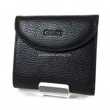 GIUDI fekete márkalogó nyomatos kis női péztárca 6470A-03