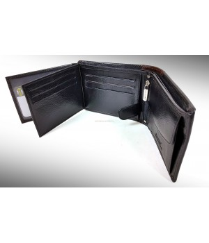 BLACKLINE szabadon nyíló, RF védett férfi pénztárca M8386-5B