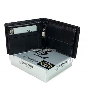 BLACKLINE RF védett férfi pénz és irattartó M8023-5A