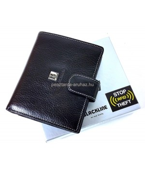 BLACKLINE RF védett, férfi pénz és irattartó M8030-5A