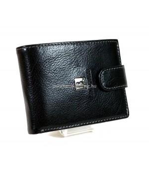 BLACKLINE RF védett, nyelves fekete férfi pénztárca M7225-5A