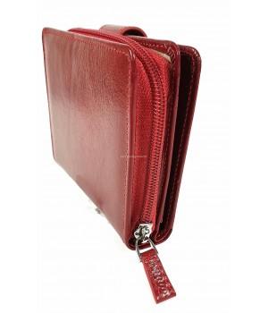 Giudi piros körzippes női pénztárca 6297GD-05