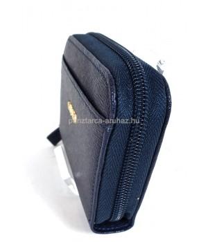 Giudi kék zippes kártyatartó 7052LGPCRF-07