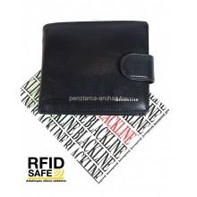 BLACKLINE RF védett kis kapcsos férfi pénztárca M8054-3
