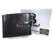 BLACKLINE RF védett, világos tűzésű, nagy férfi pénztárca M8375-5A