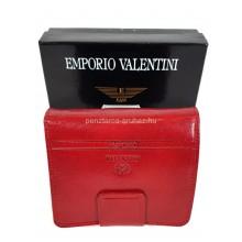 Valentini álló fazonú piros női bőr pénztárca 563182
