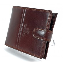 Valentini barna férfi patentos bőr pénztárca 563260