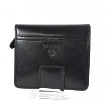 Valentini álló fazonú fekete női bőr pénztárca 563182