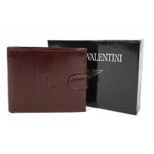 Valentini barna férfi patentos bőr pénztárca 563298