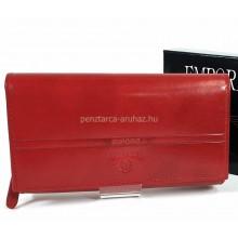 Valentini  hosszú irattartós, piros női bőr pénztárca 563155