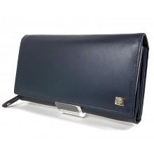 Choice nagy hosszú női pénztárca-kék 2960