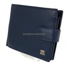 Choice nagy, patentos pénztárca-kék 7797