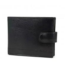 La Scala fekete dísztűzött pénz és irattartó tárca kapcsos nyelvvel AVA1021/T