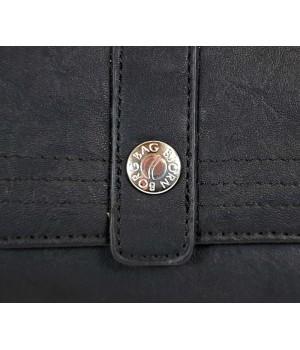 Björn Borg állítható fedeles matt fekete női pénztárca BB101802-01