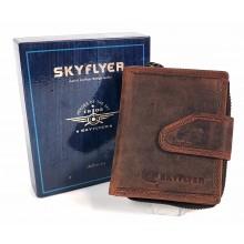 Skyflayer felirat nyomatos, kis kétoldalas pénztárca DW181