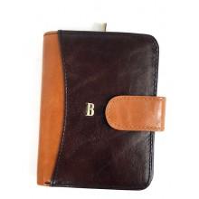BLACKLINE barna-csau kétoldalas félköríves női pénz és irattárca BLW8046-4