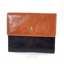 BLACKLINE barna-csau kétoldalas szögletes fedeles női pénz és irattárca BLW8040