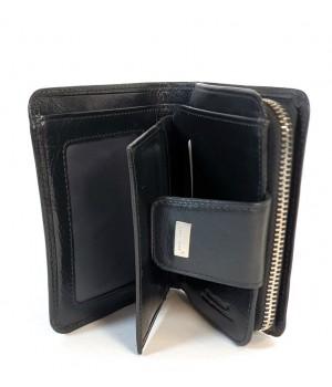 BLACKLINE fekete női pénz és irattartó tárca W8047