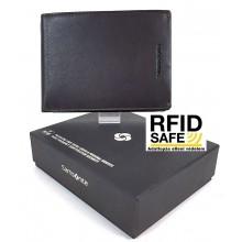 Samsonite SUCCES 2 nagy RFID védett sötétbarna pénz és irattartó tárca 124012-1140