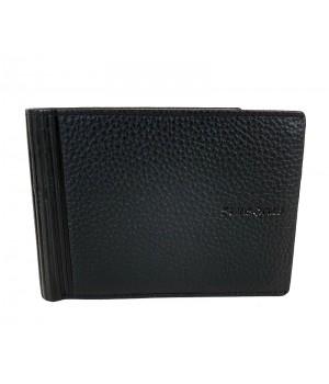 Samsonite DUBLE LTH. nagy fekete pénz és irattartó tárca-RFID védett 139985-1041