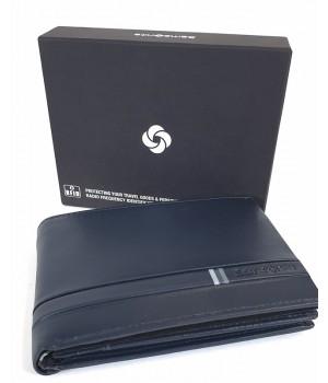 Samsonite FLAGGED nagy  sötétkék pénz és irattartó tárca-RFID védett 139944-1647