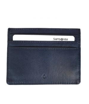 Samsonite FLAGGED  sötétkék RFID védett lapos kártyatartó 139952-1647