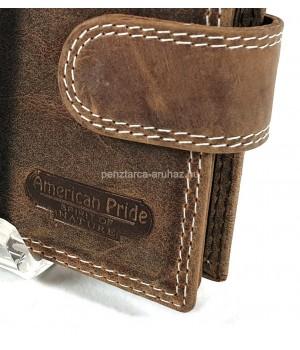 American Pride közepes méretű kapcsos  pénztárca 7160
