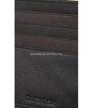 Samsonite NYX 3 SLG barnával kombinált, fekete álló irat és pénztartó tárca 68N*09*136