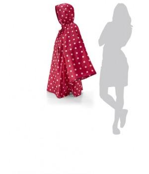 Reisenthel MINI-MAXI piros, fehér pettyes esőkabát AN3014