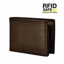 Samsonite ATTACK 2 SLG férfi sötétbarna pénz és irattartó tárca-RFID védett 123998-1320