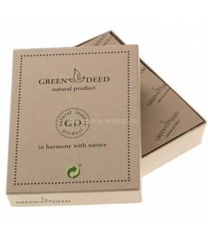 Green Deed harcsamintás bőr pénztárca AH09