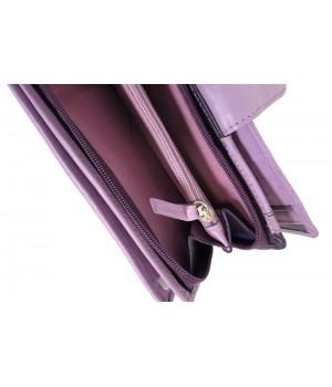 American Pride közepes méretű lila-szivárványos patentos pénztárca 78626