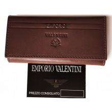 Valentini barna patentos kulcstartó 563005