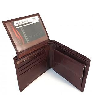 BLACKLINE barna férfi pénz és irattartó M8072-2
