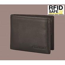 Samsonite ATTACK 2 SLG kis sötétbarna pénz és irattartó tárca-RFID védett 124000-1320