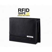 Samsonite PRO-DLX 5 nagy RFID védett fekete pénz és irattartó tárca 120632-1041