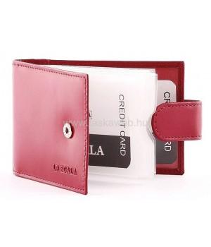 La Scala fekvő fazonú bőr kártyatartó LA209