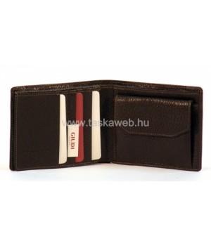 GIUDI bőrnyomatos férfi pénztárca 6160A