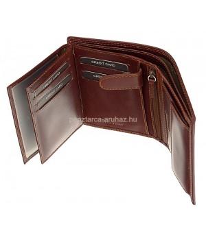 Valentini álló fazonú, barna bőr férfi levéltárca-pénztárca 563475