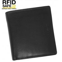 Samsonite SUCCES 2 kis álló, RFID védett fekete pénz és irattartó tárca 124018-T053