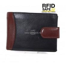 BLACKLINE RF védett két színű férfi pénztárca M8286-5B